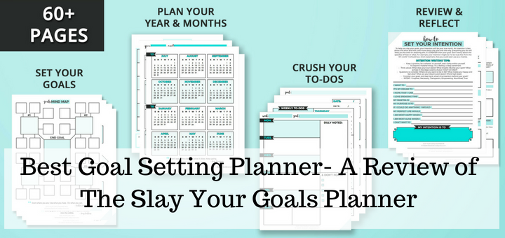 best goal setting planner- the slay your goals planner review