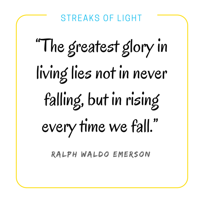 Fear of failure quotes- Ralph Waldo Emerson quote