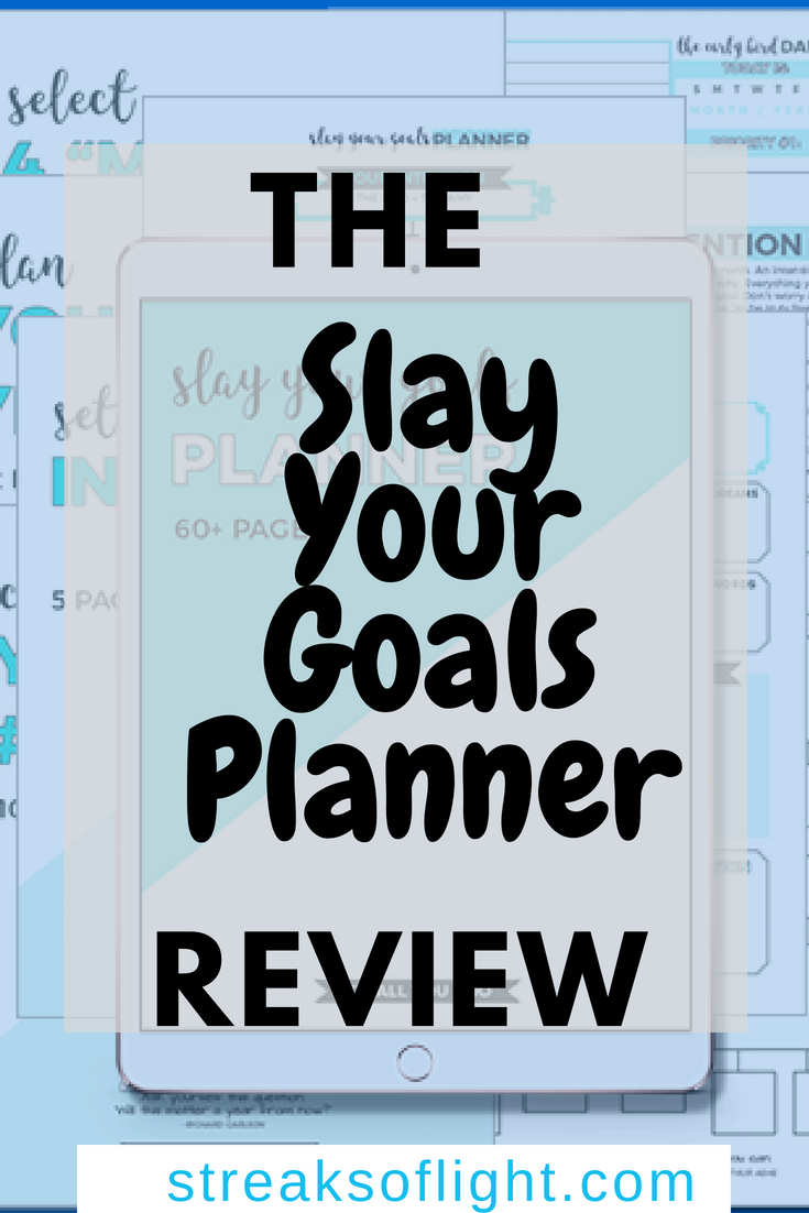The slay your goals planner works with you to help you achieve your goals. Get out of the planning rut and start slaying your goals with the best goal setting planner in the market. #slayyourgoalsplannerreview #slayyourgoalsplanner #goals2018 #businessplanner #bestplanners #goalsetting