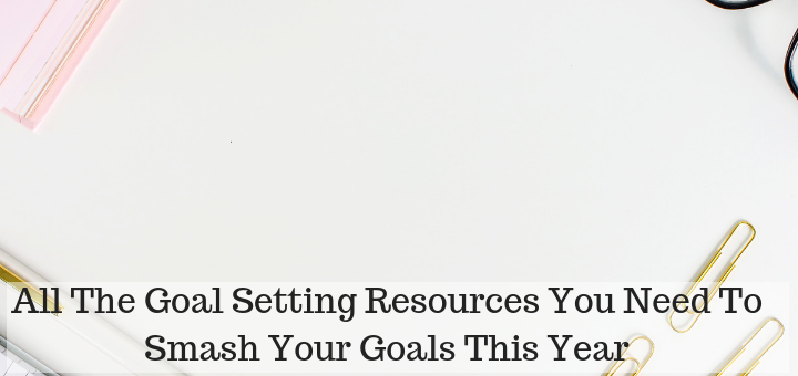 Goal setting resources to set you on a winning streak this year