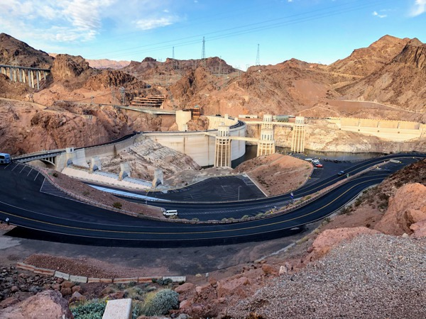 The Hoover Dam- Our fun tour of Las Vegas, Grand Canyon West rim and Hoover Dam.