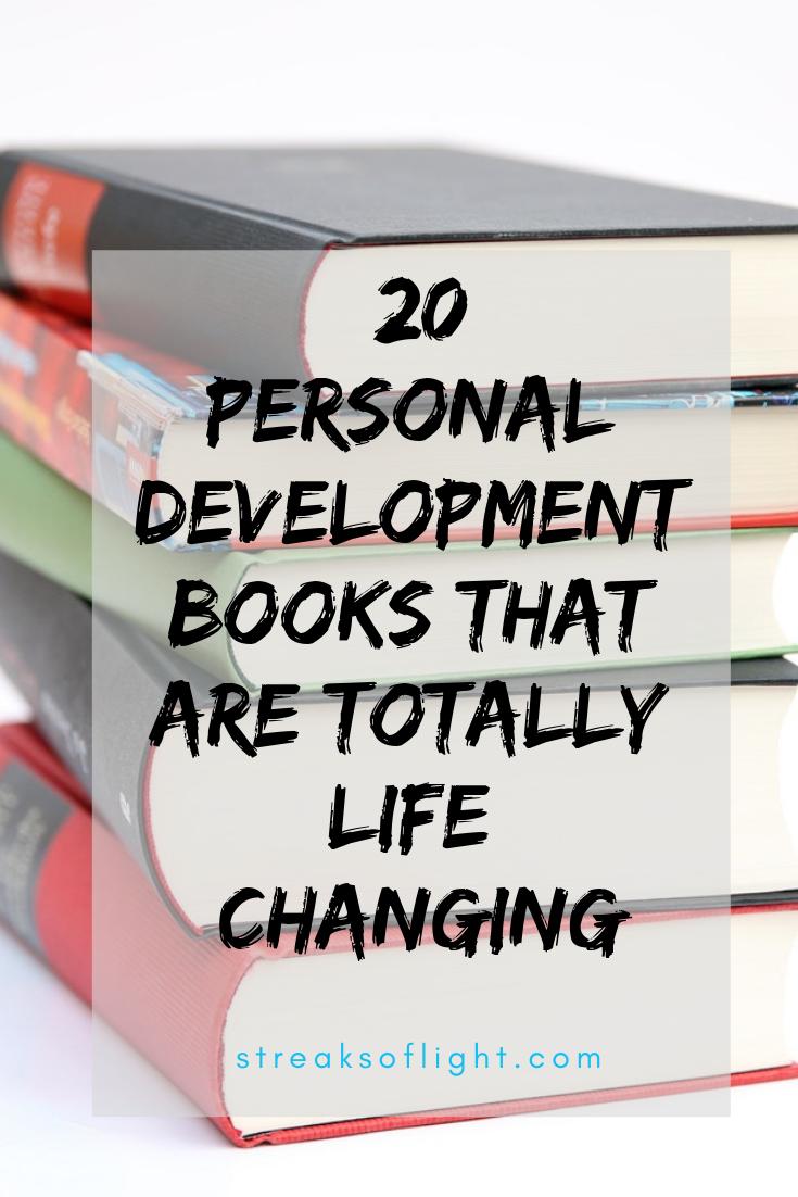top 20 personal development books that will absolutely change your life. #personaldevelopment #personaldevelopmentbooks #books #bookaddicts #personalgrowth #goals2019 #goals #goaldigger #goalslayer #achieveyourgoals2019 #topbooks #mustread