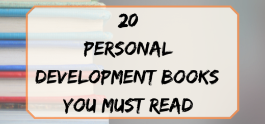 20 personal development books you should read