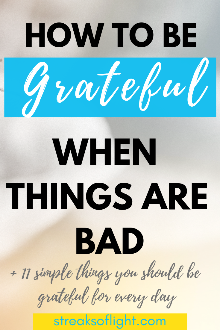 Are you going through a difficult season and wondering how to stay grateful? This blog post will show you how to be grateful for what you have. You will also get ideas of simple things that you should be grateful for everyday. #gratitude #thankfulness #begrateful #howtobegrateful #attitudeofgratitude