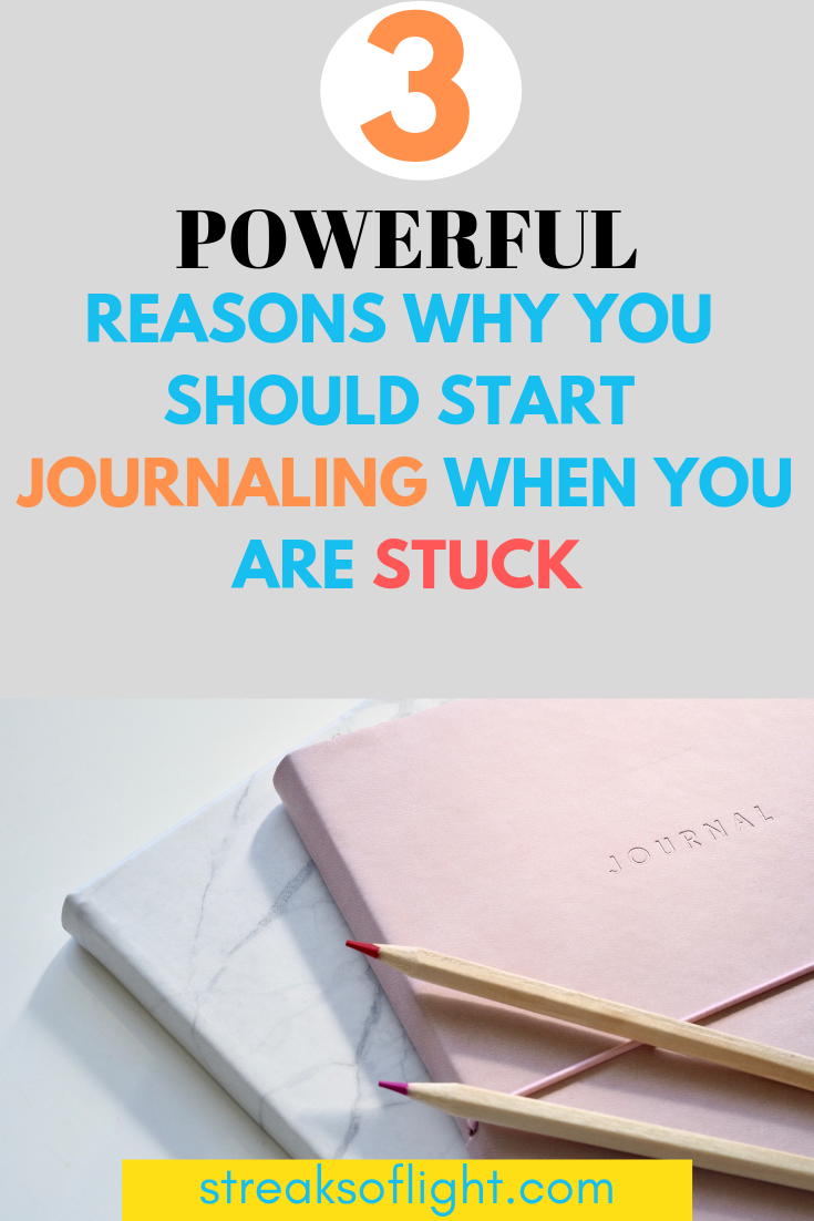 3 powerful reasons why you should start journaling