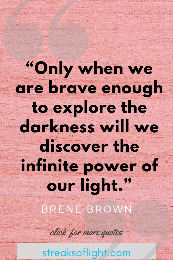 Brene Brown quotes from The Gifts of Imperfection