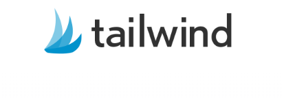 Tailwind logo. Tailwind is the best scheduling app to use for Pinterest