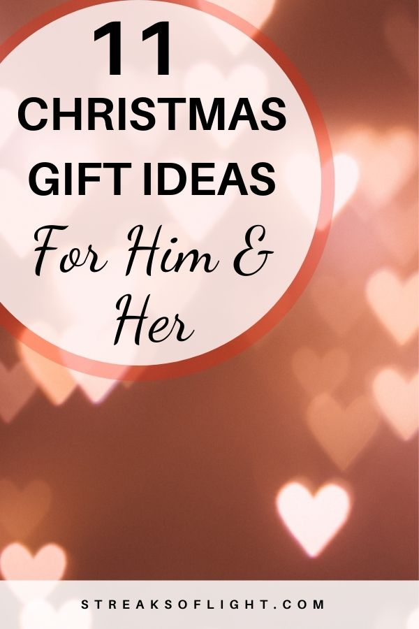 11 christmas gift ideas for him and her
